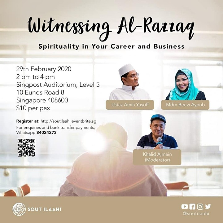 Witnessing Al-Razzaq: Spirituality in your Career and Business image