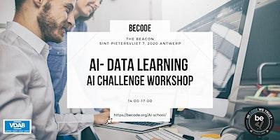AI – Data Machine Learning – Challenge workshop – BeCode Antwerp