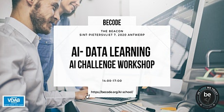 AI – Data Machine Learning – Challenge workshop – BeCode Antwerp tickets