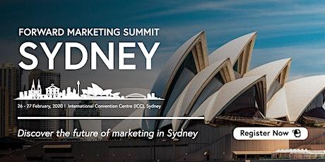 Forward  Marketing Summit Sydney 2020 tickets