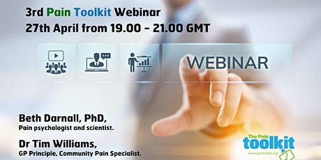 Pain Toolkit Webinar with Beth Darnell & Dr Tim Williams tickets
