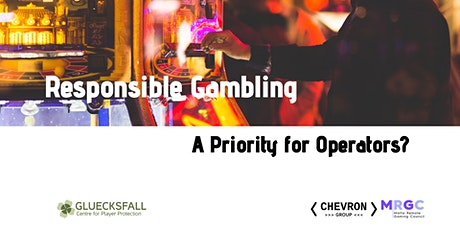 Responsible Gambling: A Priority for Operators? tickets