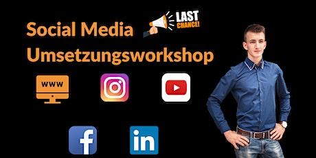 Social Media Umsetzungsworkshop Tickets