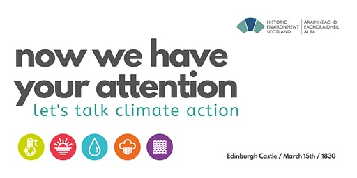 Now we have your attention: let's talk climate action