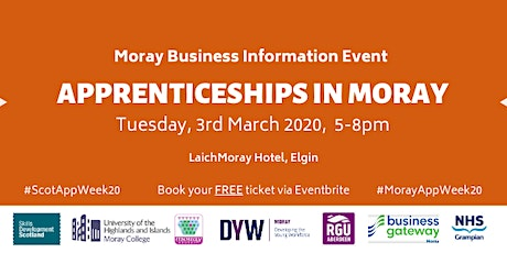 Apprenticeships in Moray Business Information Event tickets