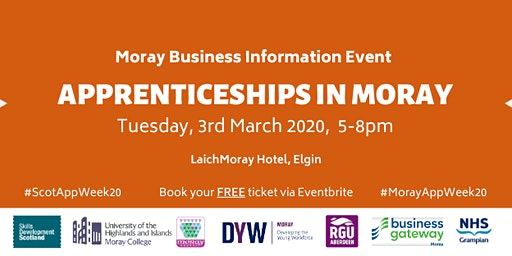 Apprenticeships in Moray Business Information Event