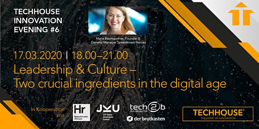 Innovation Evening: Leadership & Culture - Crucial in the digital age