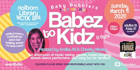 Baby Bubblers: Family Rave tickets