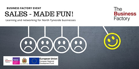 An Introduction to Sales - made fun! | Wednesday 25th March at 1pm tickets