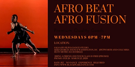 Afro Beat Dance Class  tickets