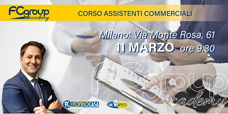 CORSO ASSISTENTI COMMERCIALI tickets