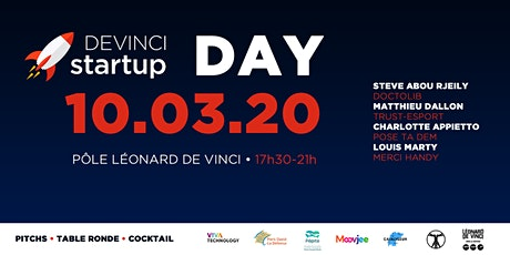 Devinci Startup Day billets