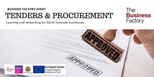 Planning for Tenders and Procurement | Monday 30th March at 9.30am