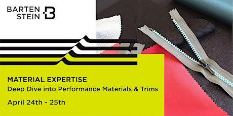 BARTENSTEIN Qualifier - Material Expertise Workshop No. 20SEM-02 Tickets