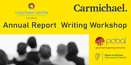 Preparing an Annual Report for your group. - Clonmel tickets