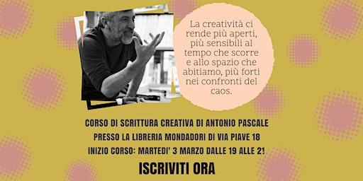 Corso di Scrittura Creativa con Antonio Pascale