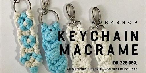 Keychain Macramé