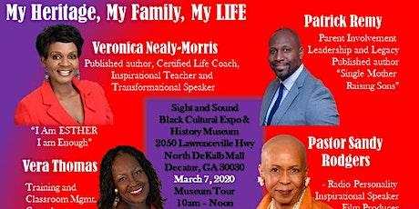 My Heritage, My Family, My Life tickets