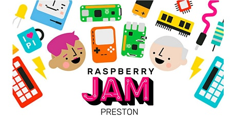 Preston Raspberry Jam #97, 6Apr20 tickets