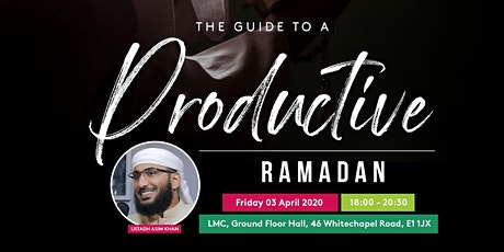 The Guide to a Productive Ramadan tickets