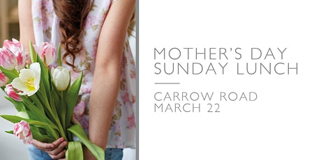 Mothers Day Sunday Lunch tickets