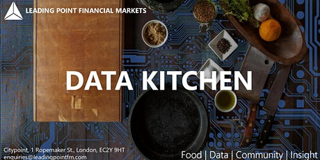 The Data Kitchen | Innovative data-tech start-ups to watch tickets