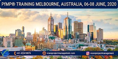 PfMP   Project Portfolio Management Training Course   Melbourne   June 2020 tickets