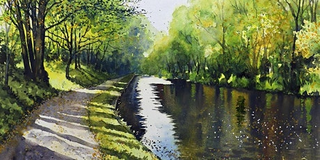 Free Watercolour Demonstration- Canal Reflections with Paul Marlor tickets
