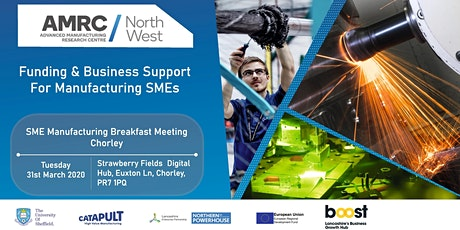 Funding & Business Support Breakfast Meeting for Manufacturing SMEs tickets