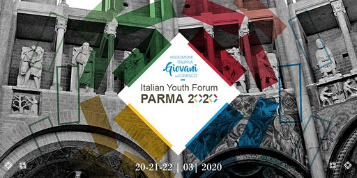 Italian Youth Forum Parma 2020 - Conferenza Sostenibilità