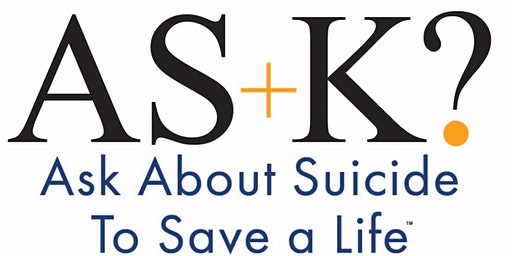 AS+K? About Suicide to Save a Life Training of Workshop Leaders (Ft. Worth)