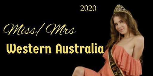 Miss/Mrs Western Australia