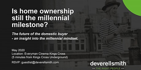 Is home ownership still the millennial milestone ? tickets