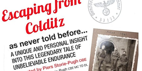 Escaping from Colditz - talk followed by nibbles and drinks: GUEST TICKETS tickets