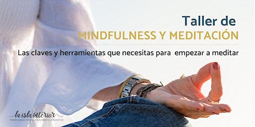 TALLER MINDFULNESS Y MEDITACIÓN