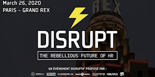 DISRUPT RH * PARIS 2020