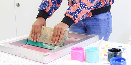 Textile Screen Printing with Kr8ive Shack tickets