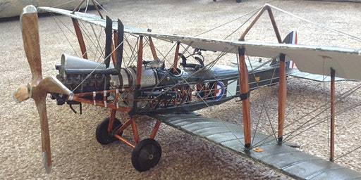 WW1 Aircraft Development Illustrated with Models on 27 March at Bolton SC