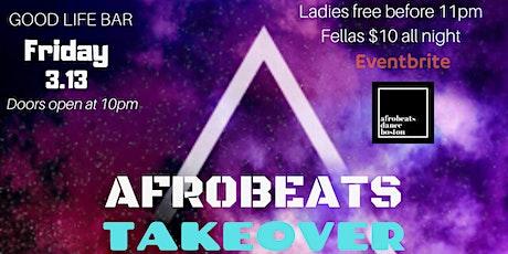 ABDB Presents Afrobeats Takeover: March Mayhem tickets
