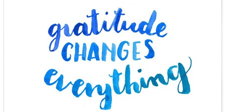 Mindfulness Monthly May: Gratitude tickets