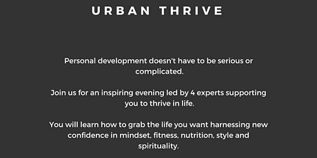Urban Thrive - Skills for Life Mastery billets