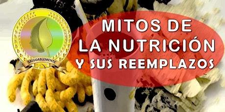 Mitos de la nutrición y sus reemplazos entradas