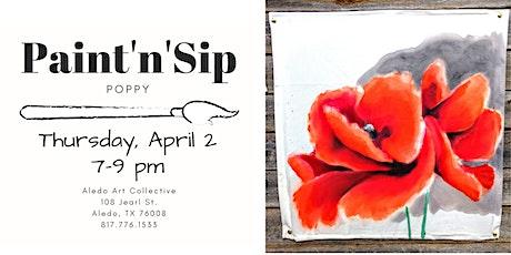Decorative Arts - Poppy tickets