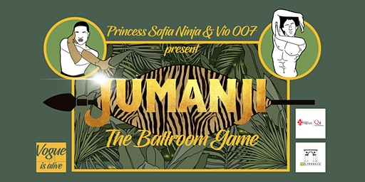Vogue is aLive // JUMANJI THE BALLROOM GAME //