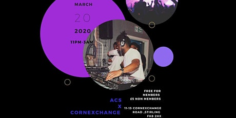 ACS X Corn Exchange tickets