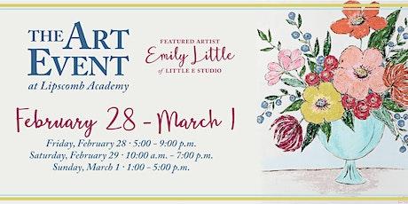 Art Event at Lipscomb tickets
