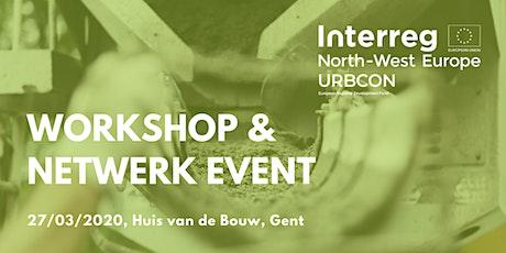 URBCON workshop en netwerkmoment tickets