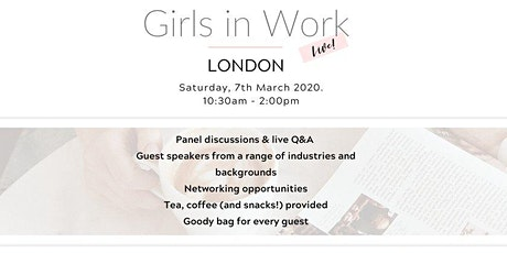 Girls in Work Live London tickets