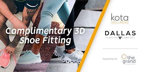 3D Shoe Fitting with Dallas Running Company tickets