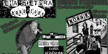 """I.S.H.C Music Festival """"Tributo a Hildebrando"""" show com Cólera 25 anos tickets"""